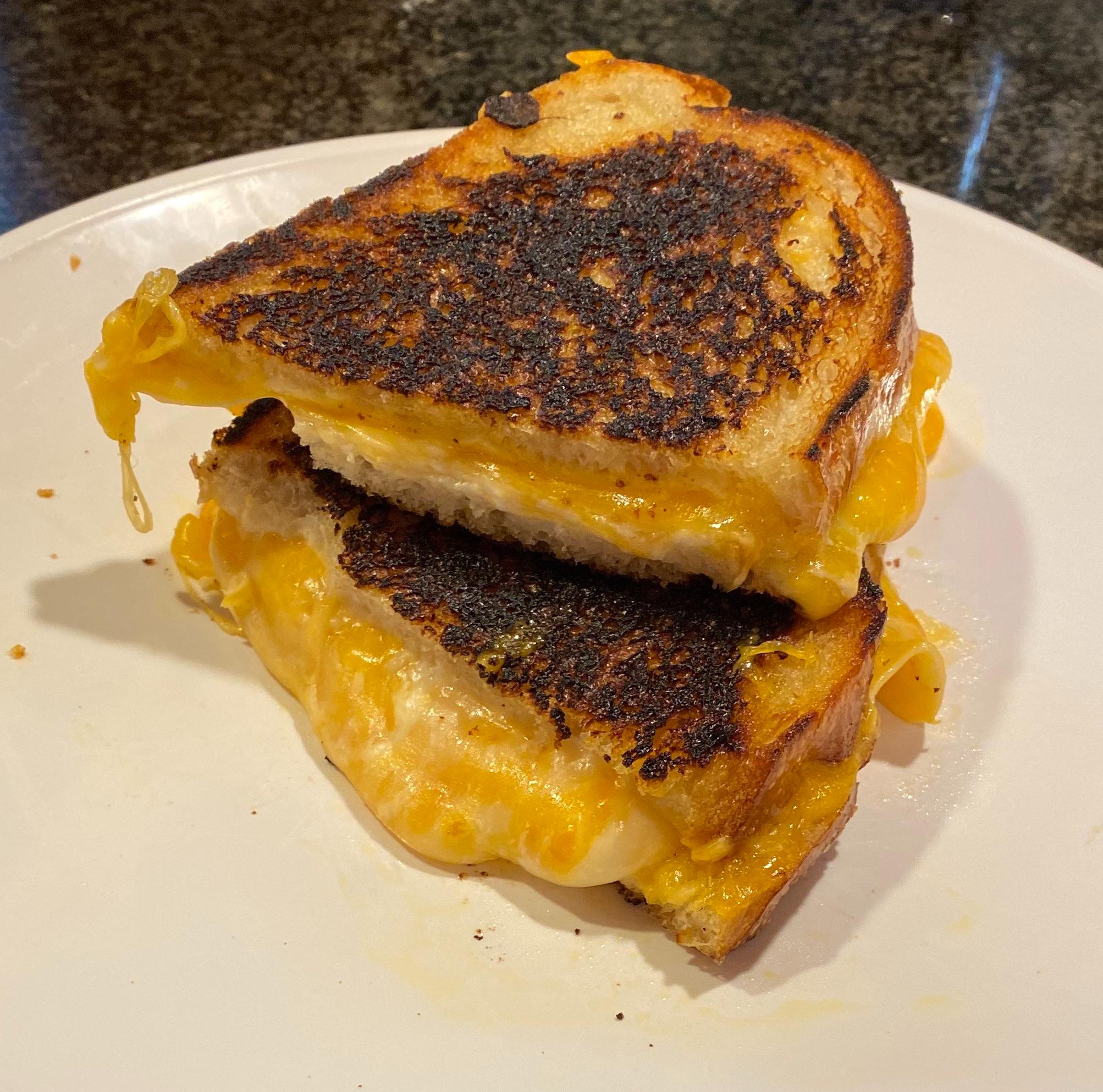 Disneyland's signature grilled cheese sandwich