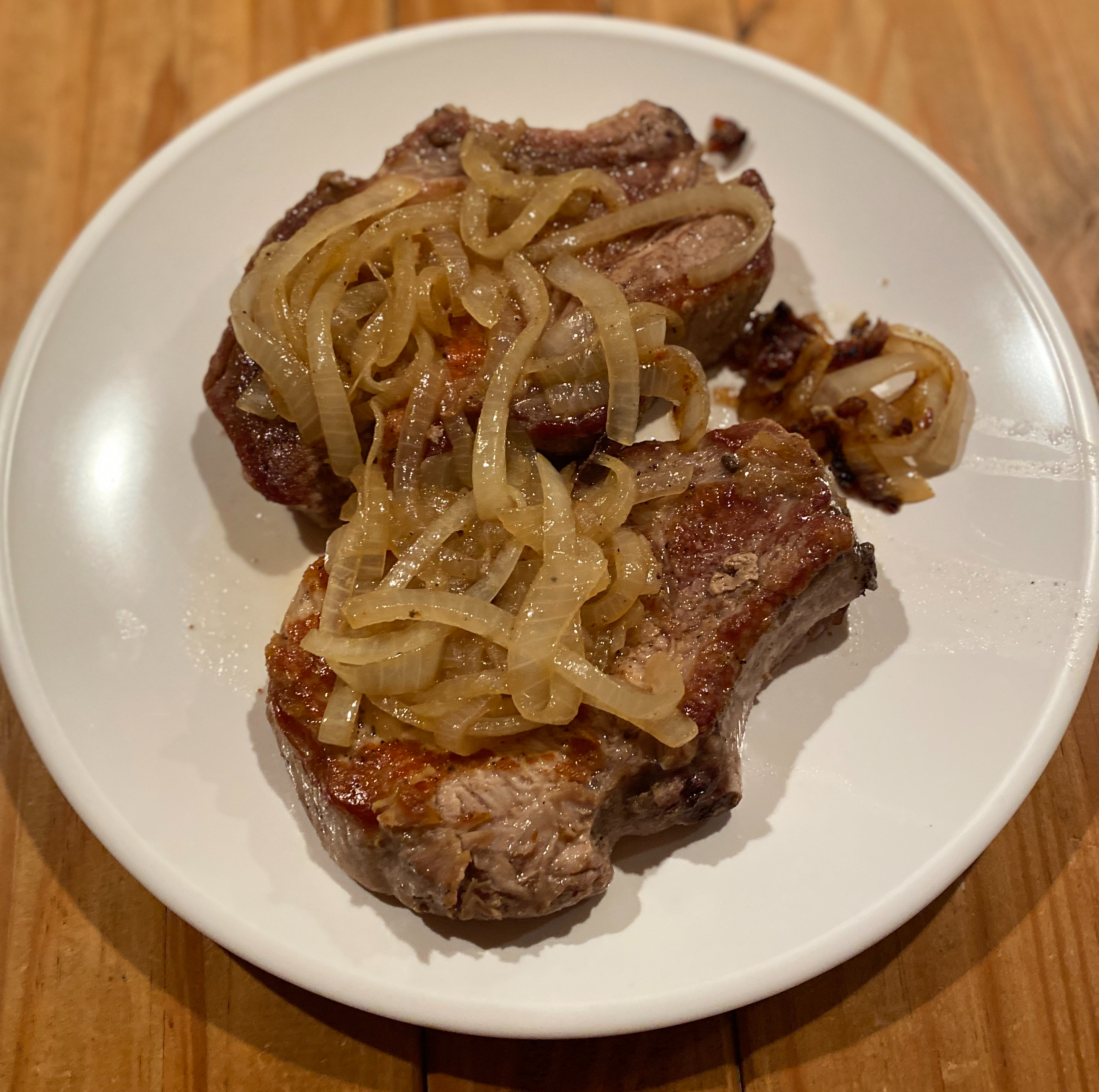 Make these perfect pork chops for an easy weeknight dinner.