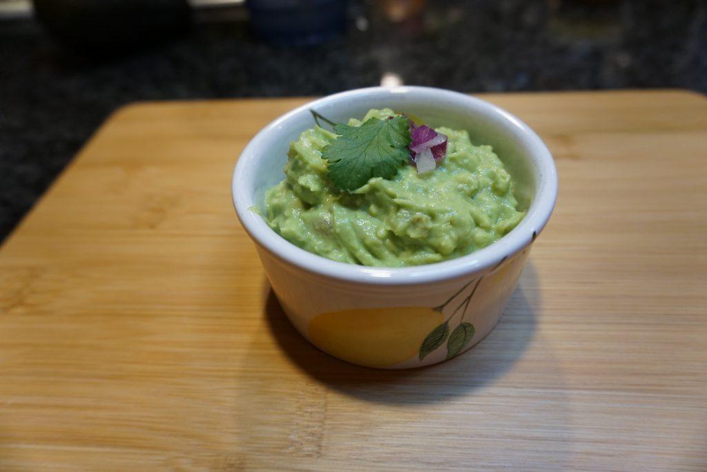 Make fresh guacamole at home