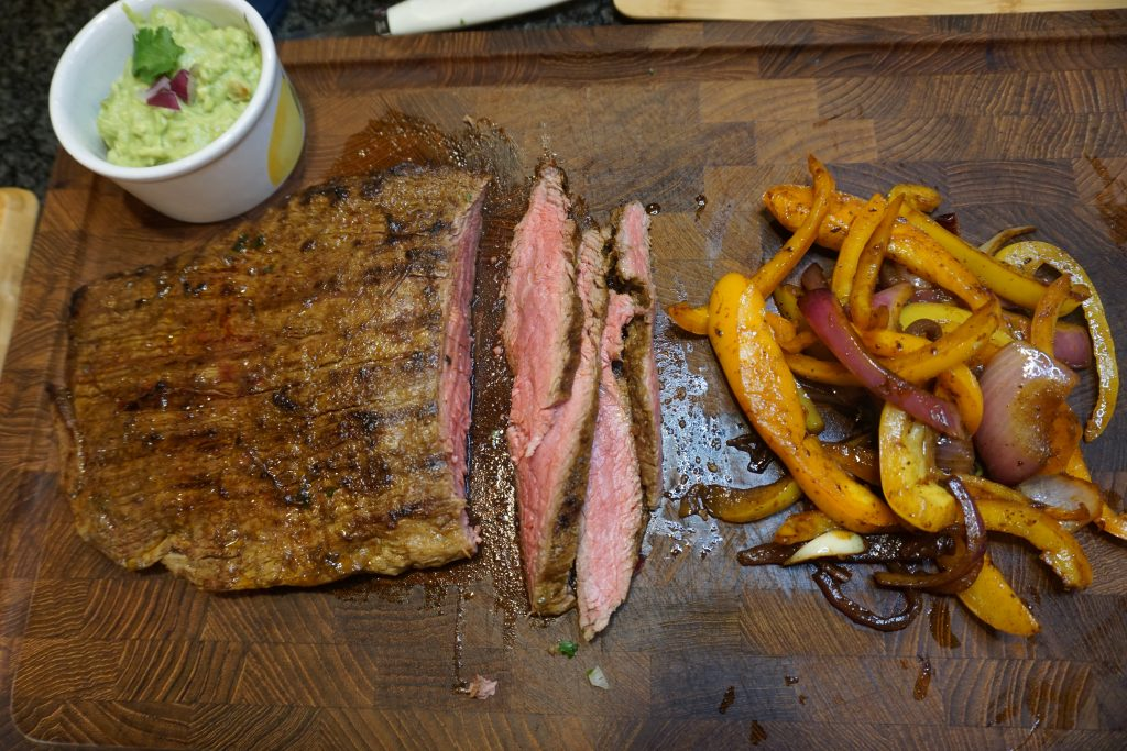 Make the best steak fajitas at home