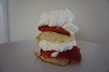 Try this easy strawberry shortcake recipe with ripe and fresh strawberries.