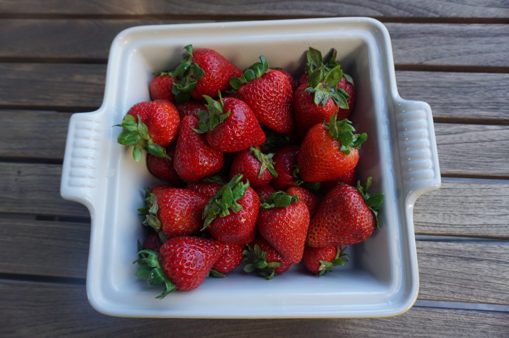 Nothing beats fresh strawberries when they're in season.