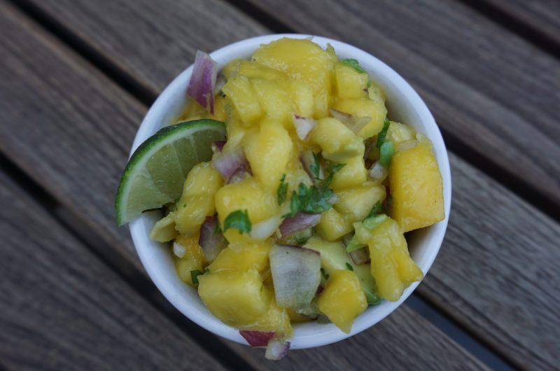 5-Ingredient Mango Salsa