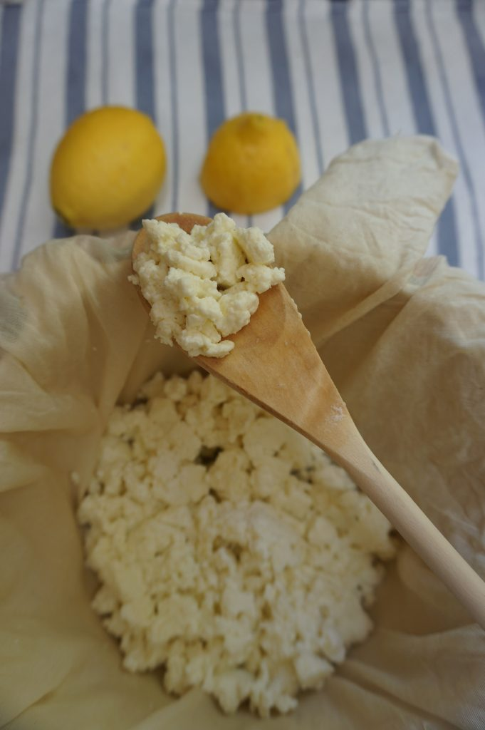 Homemade ricotta is fun and easy to make at home!