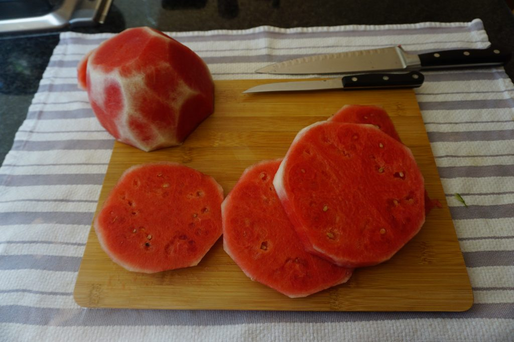 Make rounds with your melon.