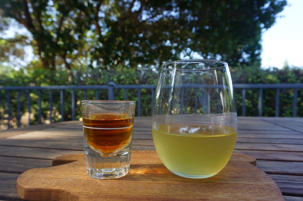 The peanut butter pickleback with skrewball whisky is a combination you have to try at least once.