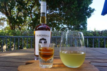 The peanut butter pickleback with skrewball is a must try!