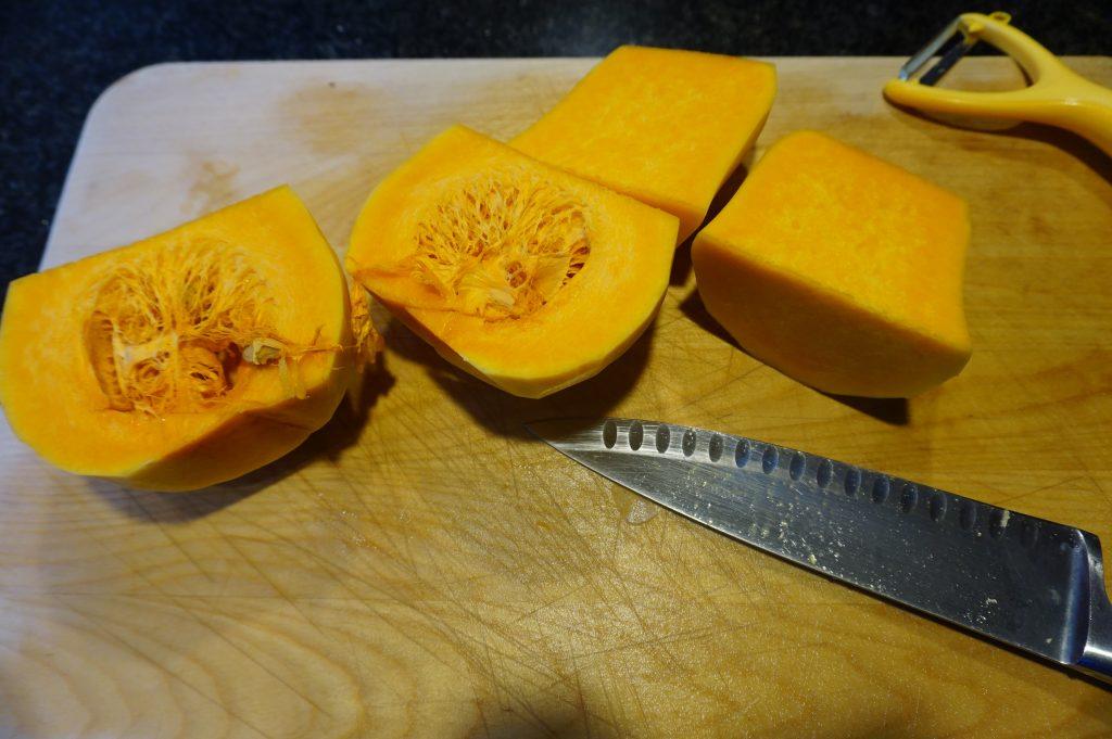 Slice the squash