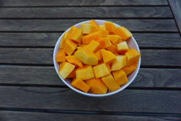 Learning how to cut a butternut squash is easy.