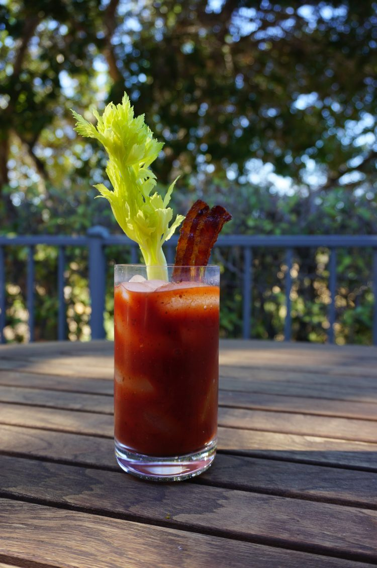 A Bloody Mary is known as a brunch cocktail and the perfect hangover cure.