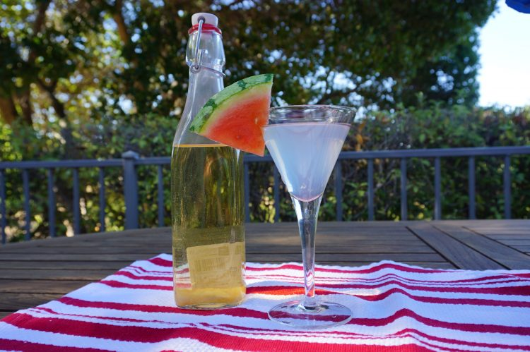 This lychee martini is easy to make and only requires 4 ingredients.