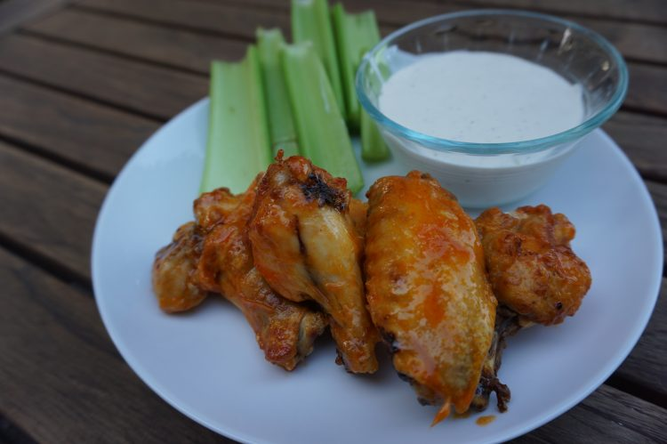 Making frozen chicken wings in an air fryer is easy and quick!