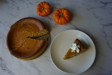 Make this easy pumpkin cheesecake for the holiday season.
